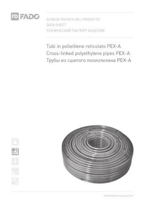 Труба полиприпиленовая PEX-A