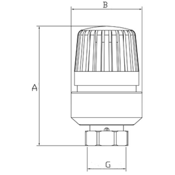 Термоголовка TG01